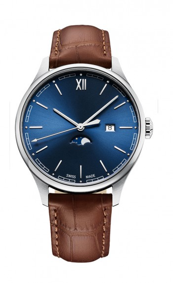 Moonphase Gent - Classic Watches - SWISS MADE PROMOTIONAL AND PRIVATE LABEL WATCHES - CHRONO AG - Switzerland - Suisse - Schweiz - Watch - Watch Shop - Jewelery- Personalised Gifts - Jewellery Shops - Gift - Anniversary Gifts - Gold watch - Engraving - En