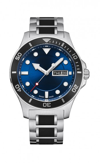Diver - Gents Watches - SWISS MADE PROMOTIONAL AND PRIVATE LABEL WATCHES - CHRONO AG - Switzerland - Suisse - Schweiz - Watch - Watch Shop - Jewelery- Personalised Gifts - Jewellery Shops - Gift - Anniversary Gifts - Gold watch - Engraving - Engraving Ser